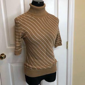 Mossimo Turtleneck Soft Sweater Short Sleeves